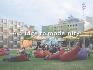 A bridge to modernity