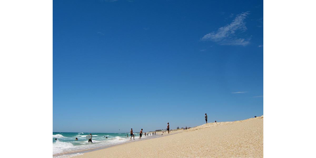 Perth Blue – Sail & swim by bike